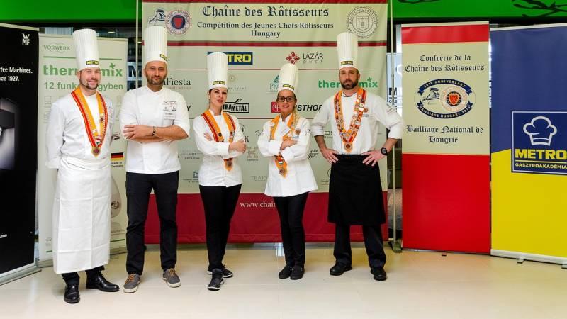 Jeunes Chefs Rôtisseurs 2019 Ifjúsági szakácsverseny