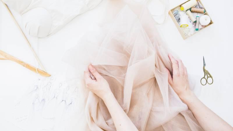 Textil ollók, szabóolló